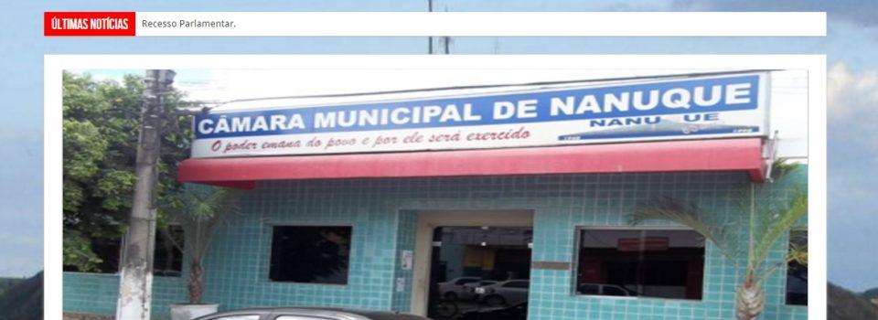 Câmara Municipal de Nanuque Minas Gerais